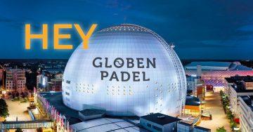 HeyPadel i Globen Padel