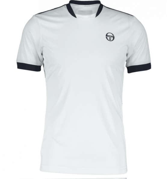 Sergio Tacchini Club Tech T-Shirt WHITE